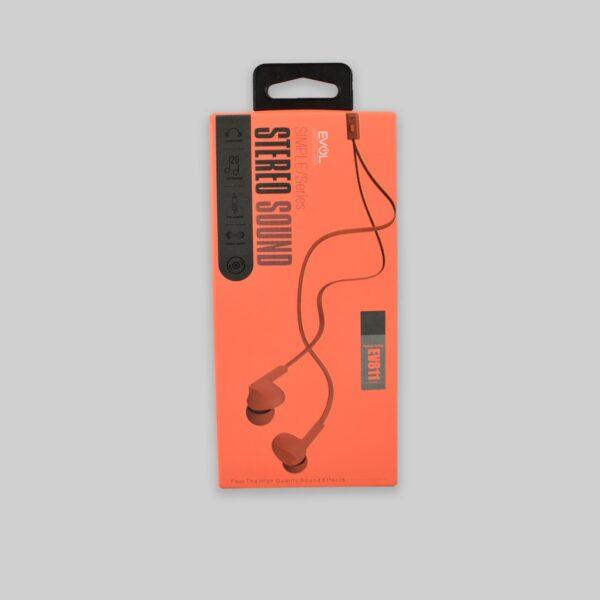 Auricular EV-811 Naranja